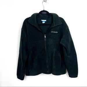 Columbia Black Fleece Full Zip Jacket